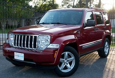 Jeep Liberty Limited 2009 Red Limited!