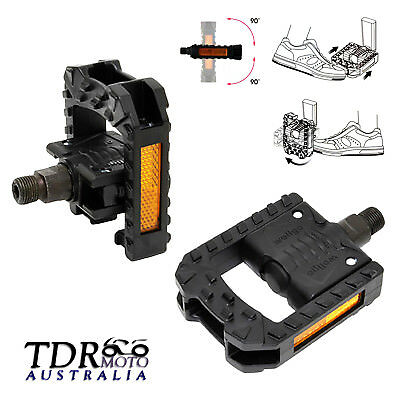 Pair of pedals Mountain bike MTB Bicycle Cycling Mountain Bike Pedal TOE X2T4