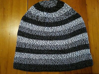 100% ALPACA WOOL BEANIE HAT, adult size, new with tags
