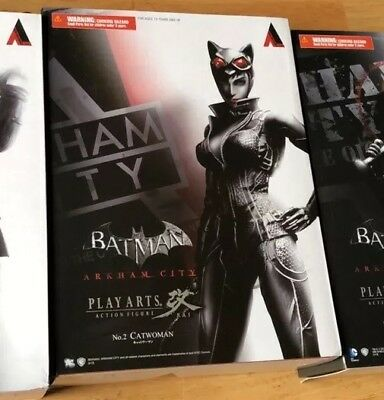 Catwoman Play Arts Kai Batman Arkham City Action Figure