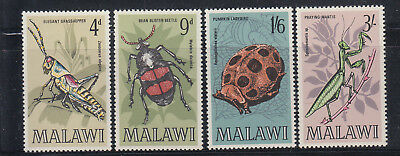 Malawi 1970 Insects Sc 127-130 Complete Mint Never Hinged