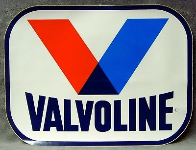 "Vintage•1983•Brand New!•Giant Size•17""x13""•Valvoline Oil•Sticker•Decal•USA Made!"