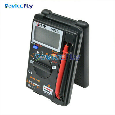 Mini VICTOR VC921 DMM Integrated Handheld Pocket Digital Frequency Multimeter