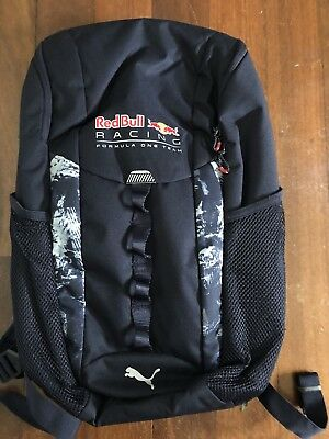 Red Bull Racing Formula One F1 Team Back Pack Made By Puma