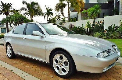 2002 ALFA ROMEO 166 AUTOMATIC 3.0L V6 SEDAN. Rare, Low K's.