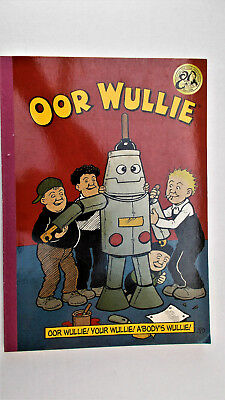 Oor Wullie 2016. 2015 D.C.Thomson. Fine condition in stiff covers.