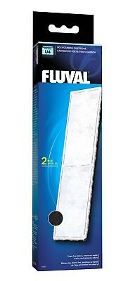 Fluval U Series Filter Poly/Carbon Cartridge 2 Pack