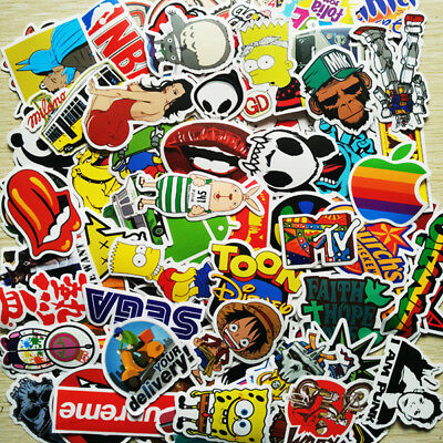 300 Individual Sticker Bomb Pack Scooter Stunt Bmx Euro Jap Jdm Laptop Skate Uk
