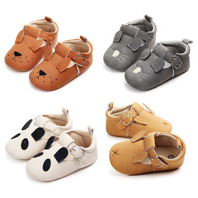 Baby Kids Boys Girls Summer Shoes Toddler Moccasin Soft Sole Crib Shoes 0-18M