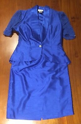 80's Vintage Size 14 Women's 2 Piece Suit