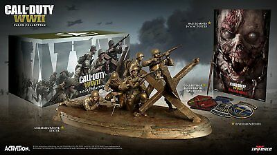 Ohne Spiel - Call of Duty: WWII Valor Collection Collectors Edition NEUWARE