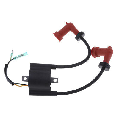 Motorcycle Ignition Coil Assy for Yamaha 2 Stroke 15 HP 6B4 Outboard Engine