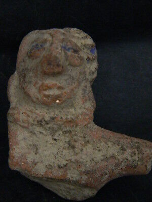 Ancient Teracotta Mother Goddess Torso Indus Valley 600 BC  #TR729