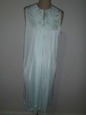 Vintage Nightie Night Gown, Target, Size 16, Spearmint, Still New With Tags!