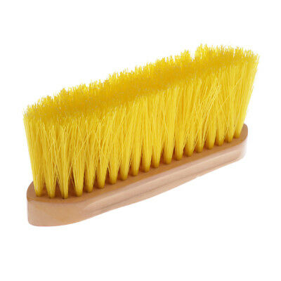 Lightweight Horse Grooming Brush Animal Pony Cleaning Tool Equestrian Yellow