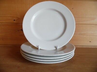 "5 x 8¼"" Salad/Starter/Side Plates Royal Worcester Essentials Range Classic White"