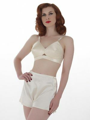 What Katie Did - French Knickers, Peach + Black