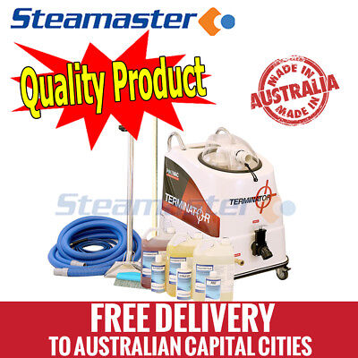 Carpet steam cleaner cleaning machine equipment Polivac Terminator 220psi