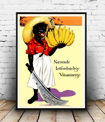 Naerende : Vintage advertising , poster, Wall art, reproduction.