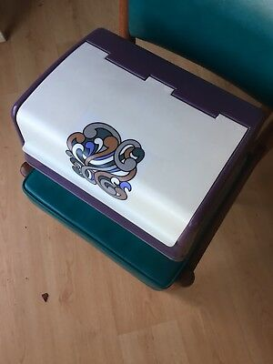Retro Vintage Willow Bread Bin