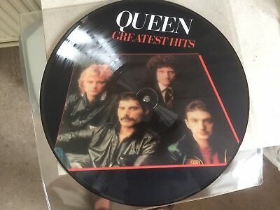 Picture Disc Queen - Greatest Hits - L.p 17 Tracks
