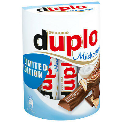 Duplo Milchcreme - 10 Stück Multipack - Limited Edition - 182 g