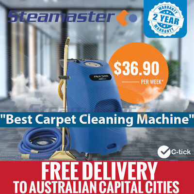 Pex 500 & Stainless Steel Wand Carpet Steam Cleaner Cleaning Machine Equipment
