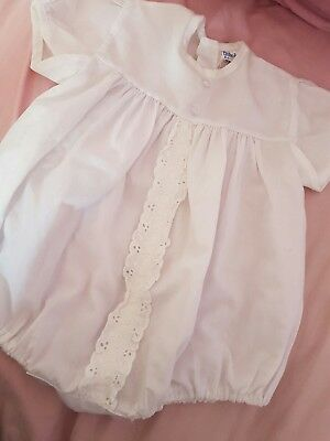 vintage 1970s baby boys romper 0-6 months