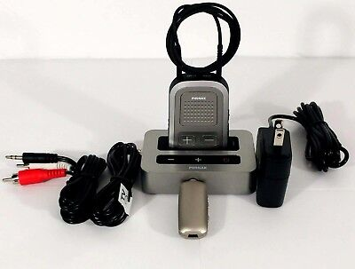Phonak TVLink S with Phonak ComPilot I + Audio Cables free remote mic