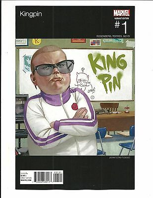 KINGPIN # 1 (TEDESCO HIP HOP VARIANT, APR 2017) NM NEW (Bagged & Boarded)