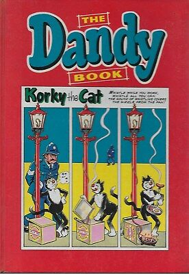 THE DANDY BOOK 1962 vintage comic annual - good