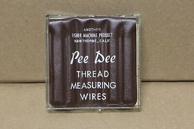 Pee Dee Thread Measuring Wires F4B7