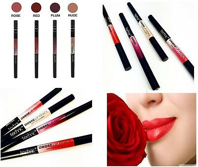 New OMBRE Technic Lip Liner Pencil Matte Lipstick Two Tone Dark and Light Shades