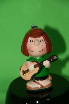 Peanuts Gang Marcie With Guitar Ceramic Figurine