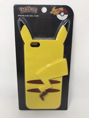 New Loungefly Pokemon Pikachu Backside iPhone 6/6s Cell Phone Clip Case