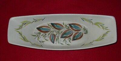 Bourne Denby Glyn Colledge Signed Tray / Dish Approx 15 X 5 1/2 Inches