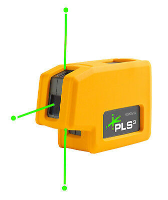 Pacific Laser Systems PLS 3G (PLS-60595N) Three Point Green Self Leveling Laser