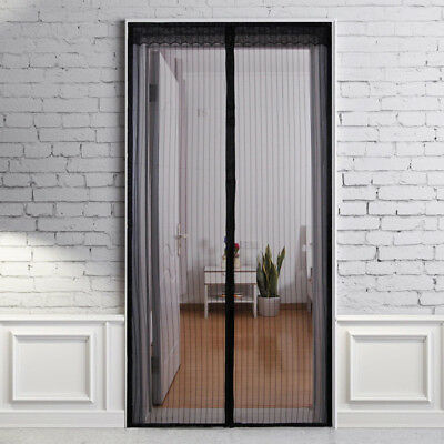 Magnetic Screen Door Velcro Curtain Close Automatically Stop Flies magnetic scre