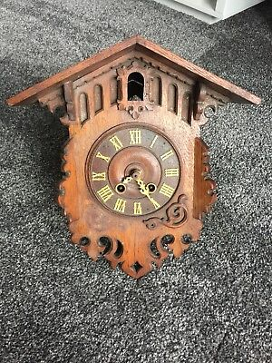 Camerer, Cuss & Co Cuckoo Clock Vintage Antique