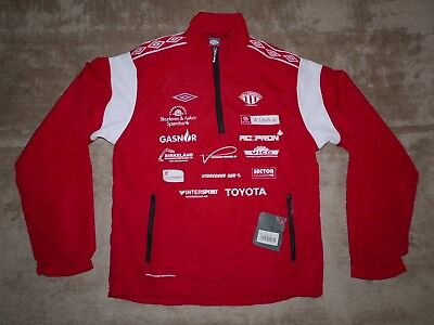 Umbro Avaldsnes IL womens football jacke sweatjacke windbreaker #XS NWT!! Norway