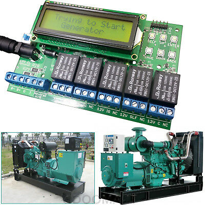 Amf Ats Generator Sets Series Controller Automatic Transfer Switch Generator