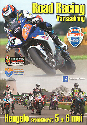 Programmheft International Motorcycle Road Racing Hengelo NL 5.+6. Mai 2018