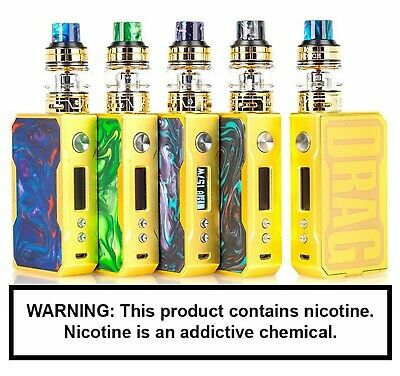 VOOPOO GOLD Drag Vape Mod Kit   UK Seller