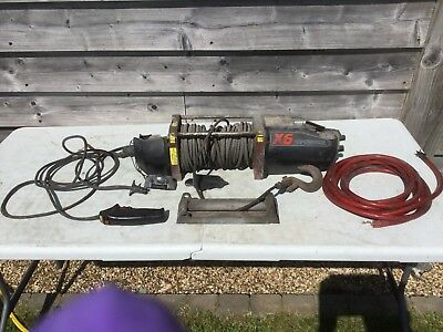 Superwinch X6 With Wired Remote Spares Or Repairs