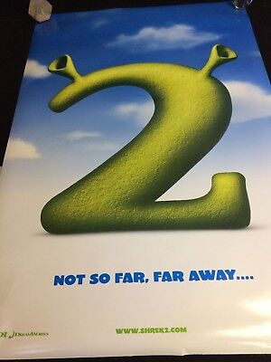SHREK 2 MOVIE POSTER 2 Sided ORIGINAL Advance 27x40 MIKE MYERS EDDIE MURPHY