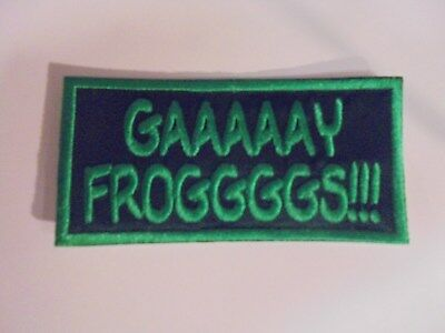 Infowars Gay Frog Patch