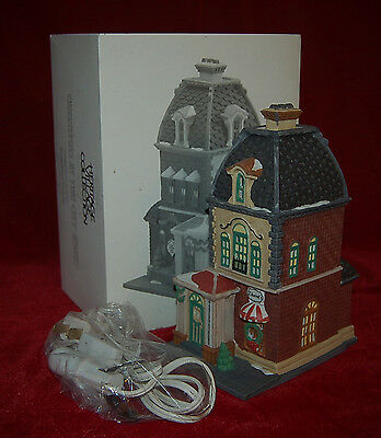 """Dept.56 Christmas In The City """"HABERDASHERY"""" In Original Box!  Beautiful Piece!"""