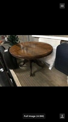 Large Oval Table original Victorian Era 1800s early 1900s