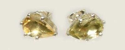19thC Antique 2ct Citrine Scotland Ancient Biblical Hebrew Gem Roman Greek Magic