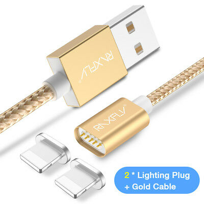 Magnetic Lightning USB Charger Charging Cable For Apple iPhone 6 6s 7 iPhone X 8